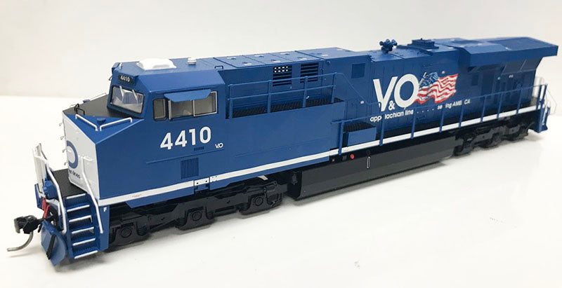 HO GEVO Virginian & Ohio Flag Scheme