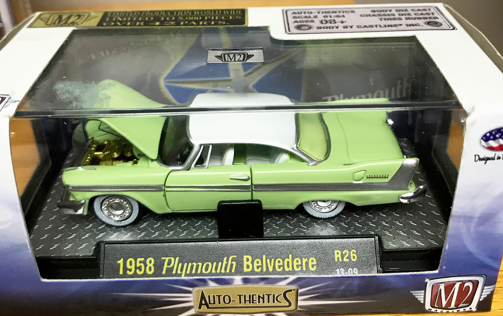 S 1958 Plymouth Belvedere - Light Green