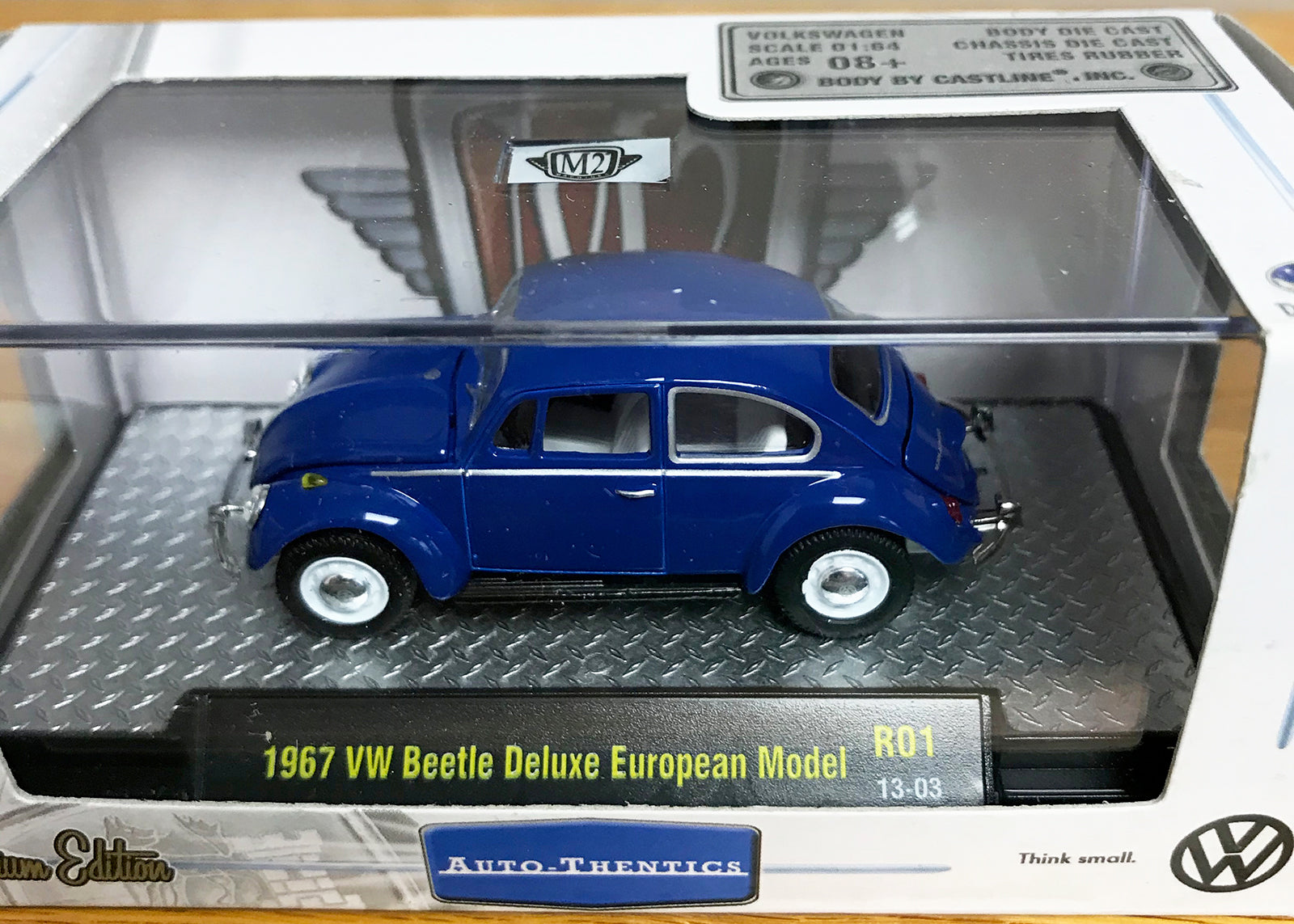 S 1967 VW Beetle - Blue