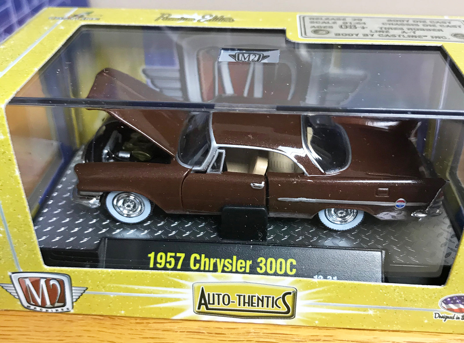 S 1957 Chrysler 300C - Brown