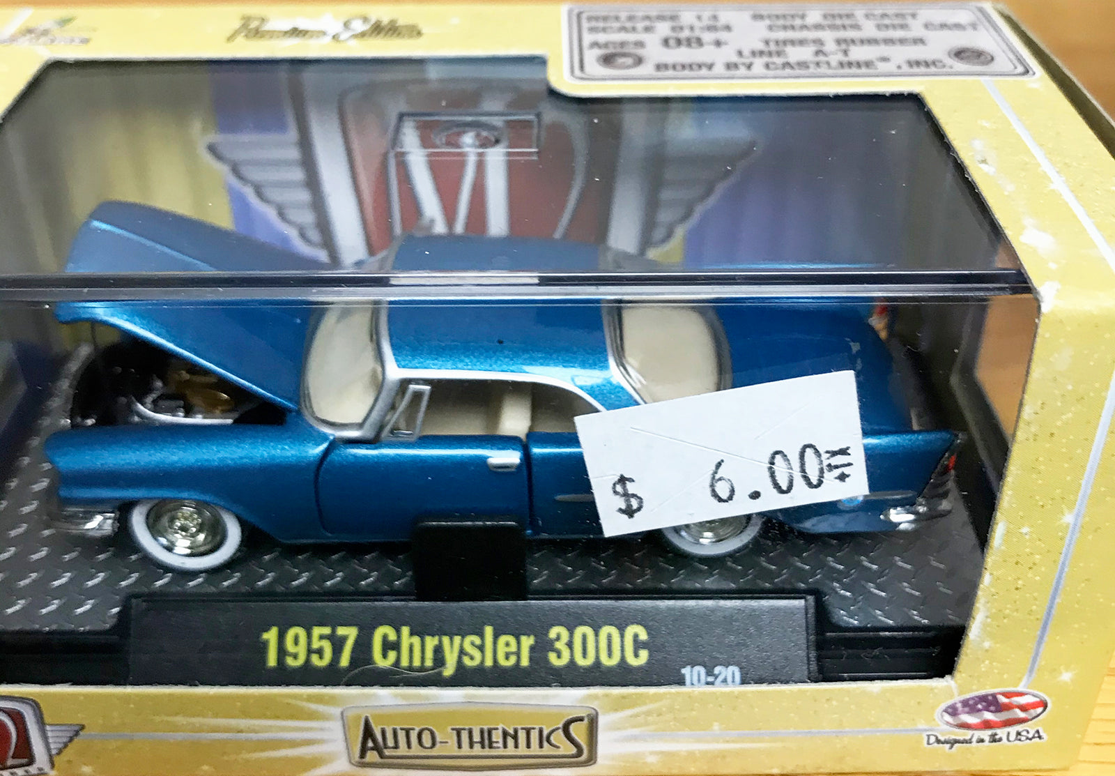 S 1957 Chrysler 300C - Blue
