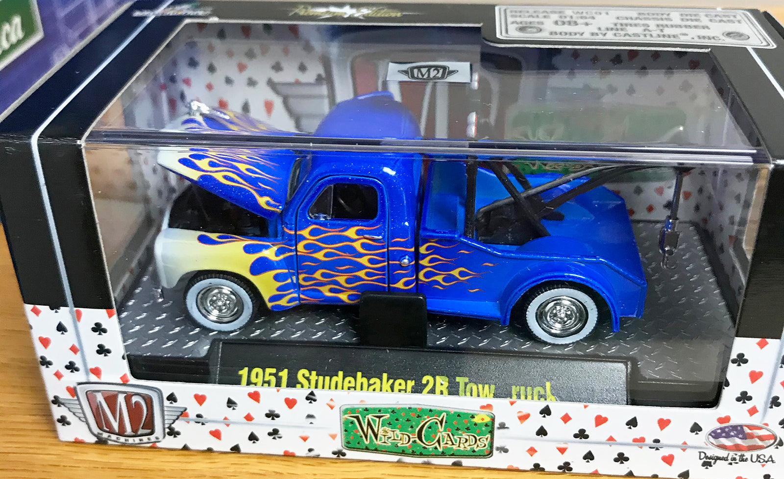S 1951 Studebaker 2R Tow Truck - Blue
