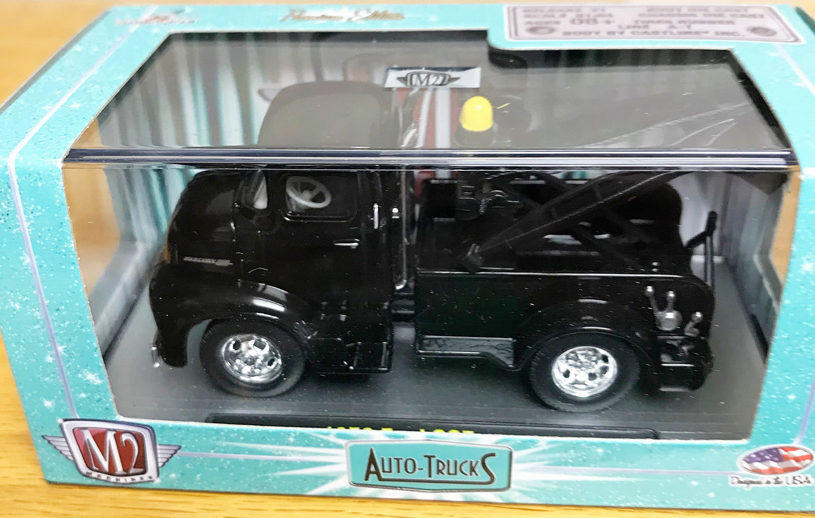 S 1956 Ford COE Tow Truck - Black