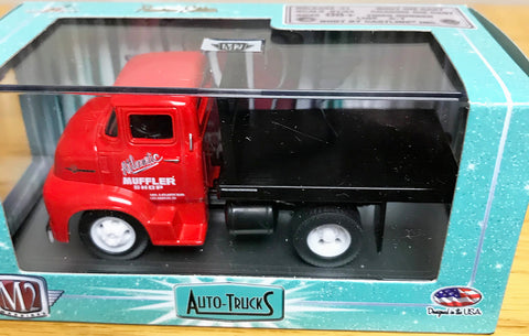S 1956 Ford COE Flat Bed - Red