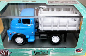 S 1956 Ford COE Stake Bed - Blue