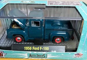 S 1956 Ford F-100 Pickup - Teal