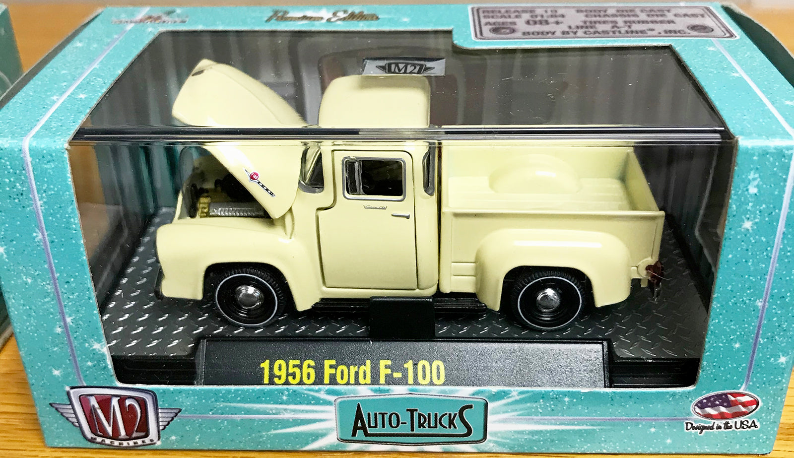 S 1956 Ford F-100 Pickup - Beige