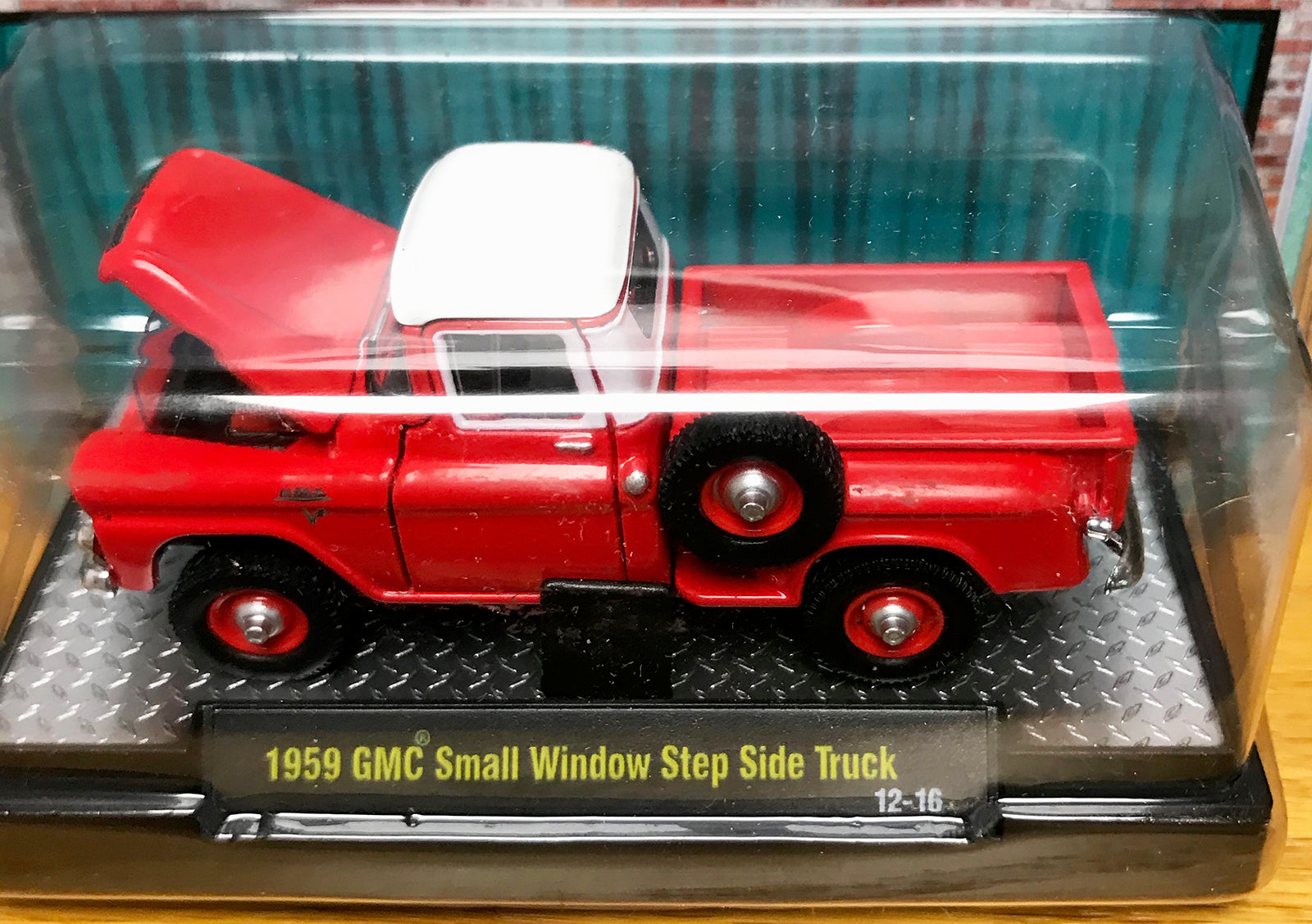 S 1959 GMC Step Side - Red