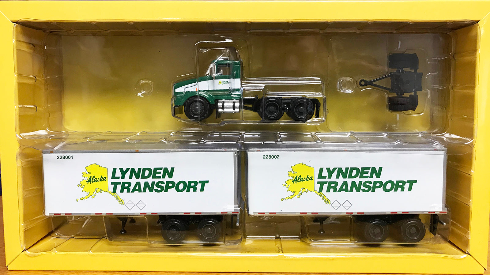 S Tractor w Double Trailers - Lynden