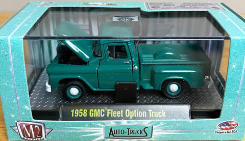 S 1958 GMC Fleet Pick Up - Green