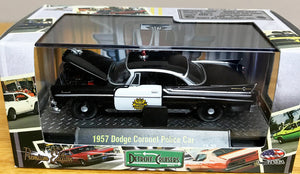 S 1957 Dodge Coronet Police Car - Black