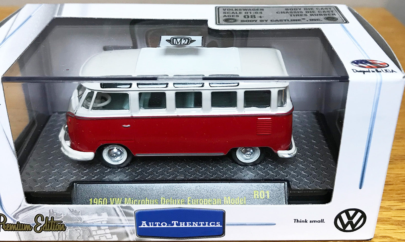S 1960 VW Microbus - Red