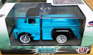 S 1957 Dodge COE Pick up - Blue