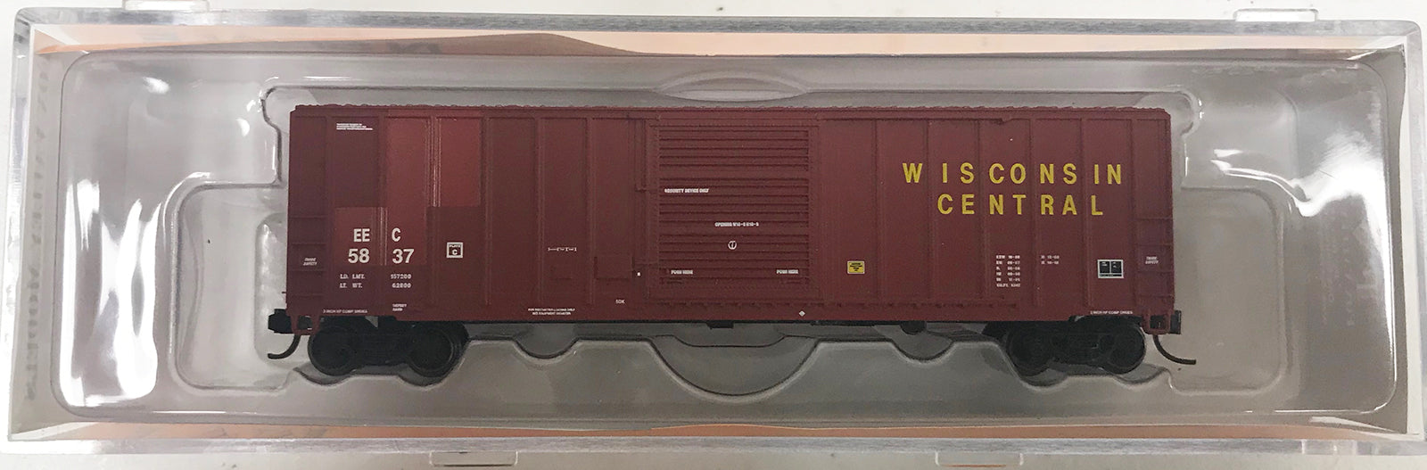 N 5347 Box - EEC #5837 Ex WC
