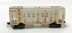 N Custom Weathered 2 Bay Cov Hop/ WC #84723