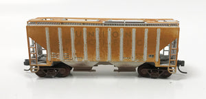 N Custom Weathered 2 Bay Cov Hop/ UP #218091