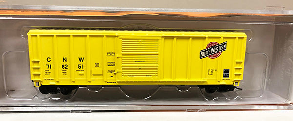 N PS 5344 Boxcar - CNW Yellow