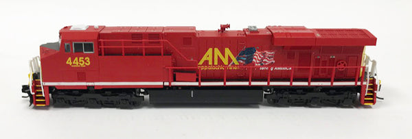 N Detailed GEVO - Allegheny Midland #4453 w/Flag
