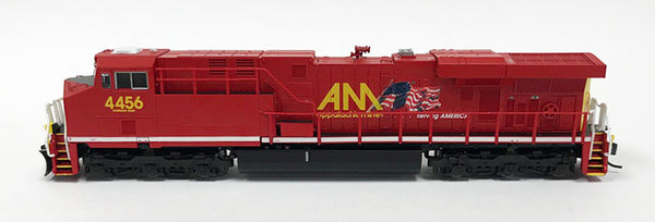 N Detailed GEVO - Allegheny Midland #4456 w/Flag