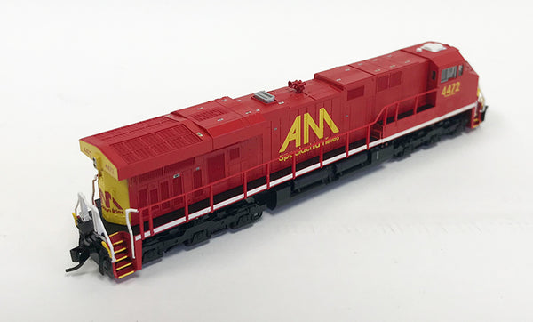 N Detailed GEVO - Allegheny Midland #4472