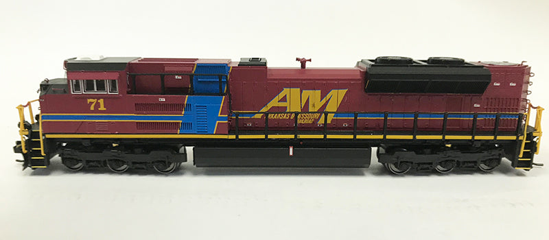 N Detailed SD70ACe - Arkansas & Missouri #71