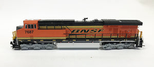 N Detailed GEVO - BNSF #7687 1st Unit Painted H3