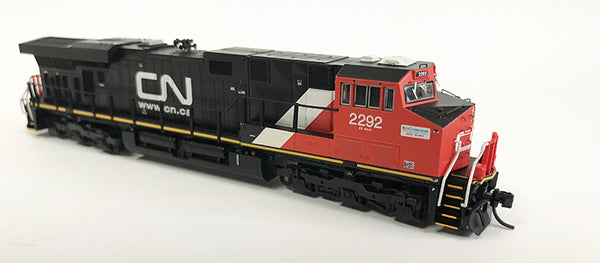 N Detailed GEVO - Canadian National #2292 Eco