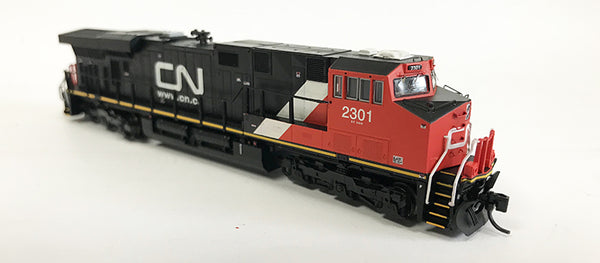 N Detailed GEVO - Canadian National #2301
