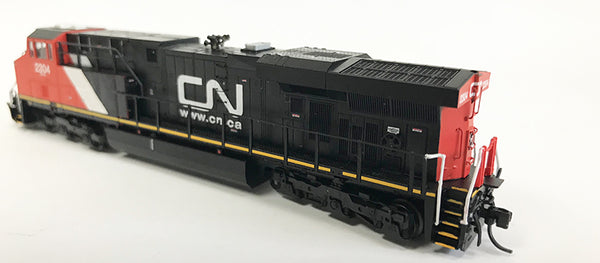 N Detailed GEVO - Canadian National #2304