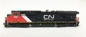 N Detailed GEVO - Canadian National #2829