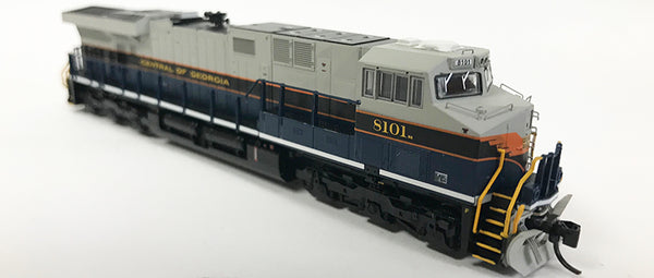 N Detailed GEVO - NS Central of Georgia #8101