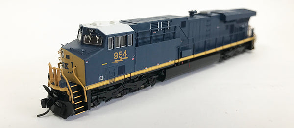 N Detailed GEVO - CSX #954 (Factory Error - One side missing large logo)