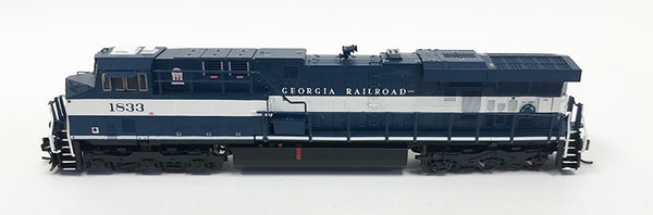 N Detailed GEVO - CSX Heritage - Georgia RR #1833