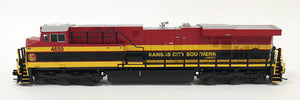 N Detailed GEVO - Kansas City Southern de Mexico #4650
