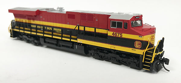 N Detailed GEVO - Kansas City Southern de Mexico #4675