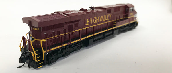 N Detailed GEVO - NS Lehigh Valley #8104 Original Paint - no nose stripe