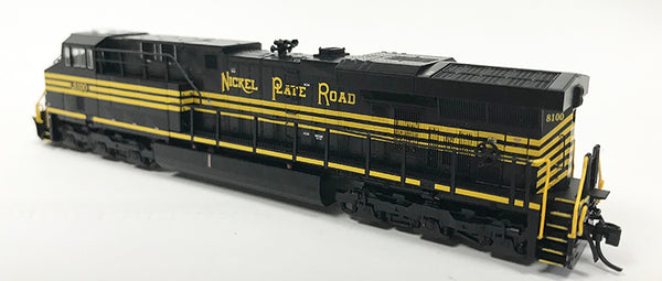 N Detailed GEVO - NS Nickel Plate Road #8100 Original Road Number