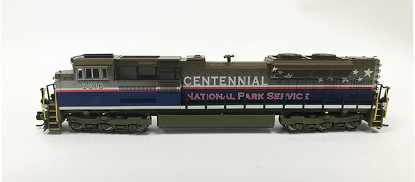 N Detailed SD70ACe - National Park Service (Custom Run)