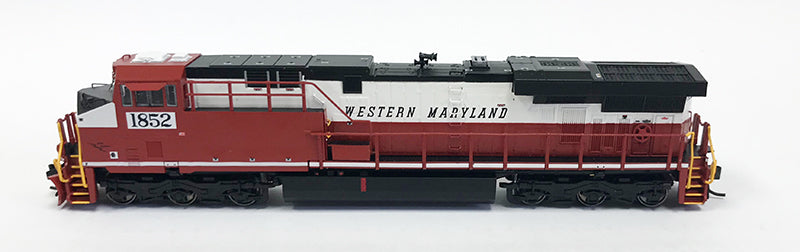 N Detailed GEVO - CSX Heritage - Western Maryland #1852