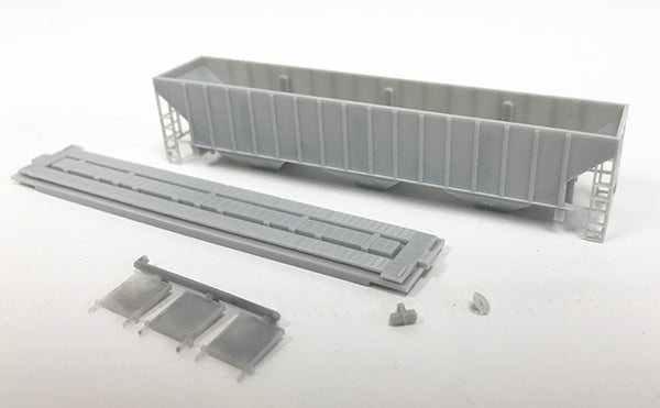 N Kit - 3 Bay Covered Hopper 4740 Cuft