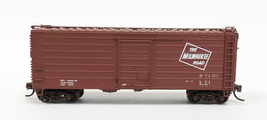 FVM 9025-0 N Milw 40' Short Rib Box/ Logo Only - No number