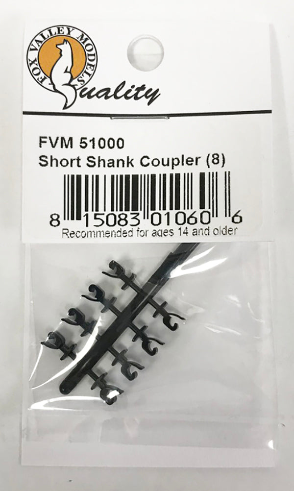 N Static Coupler - Short Shank