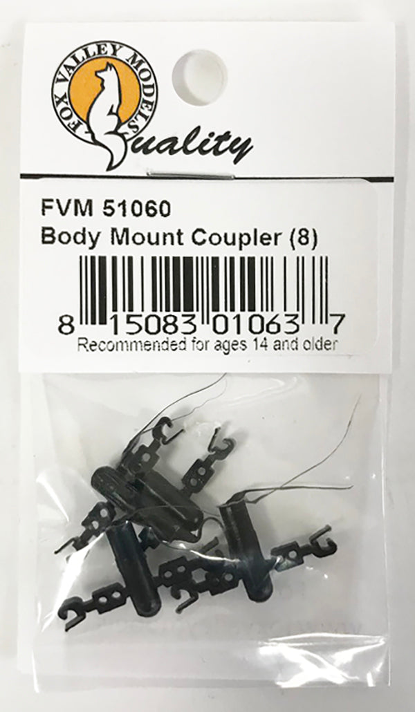 N Static Coupler - Body Mount