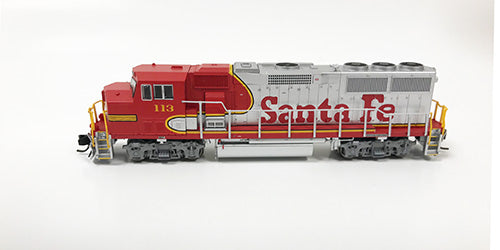N Refurbished GP60M - ATSF #113
