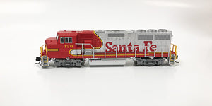 N Refurbished GP60M - ATSF #129