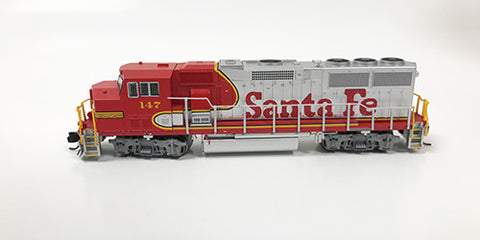 N Refurbished GP60M - ATSF #147