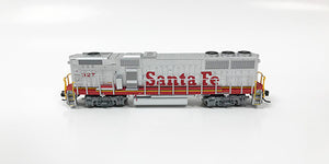 N Refurbished GP60B - ATSF #327