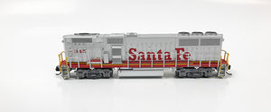 N Refurbished GP60B - ATSF #345