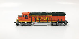 N Refurbished GP60M - BNSF #116