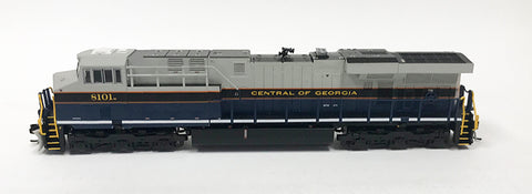 N Refurbished GEVO - NS  Central of Georgia #8101